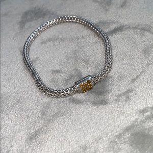 John Hardy Yellow Sapphire Classic Bracelet
